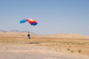 Mark landing
