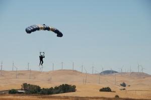 Rob, KC6TYD, landing