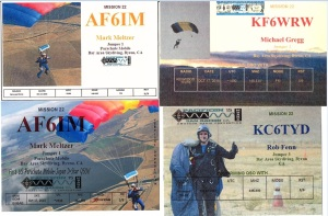 QSL cards x4