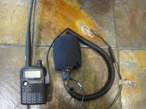 TH-F6A with earpiece
